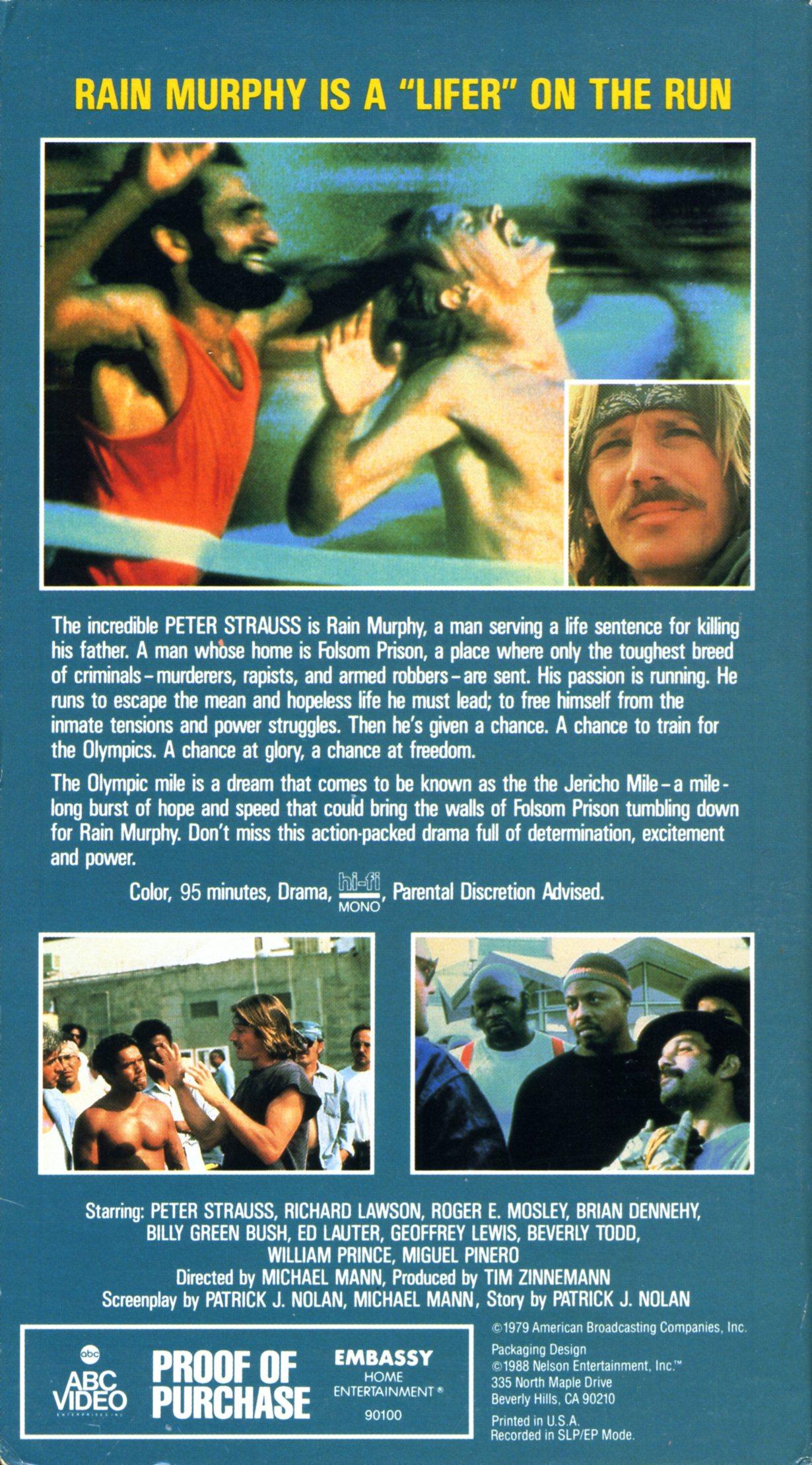 Jericho Mile Dvd The Jericho Mile $99.00 9.00